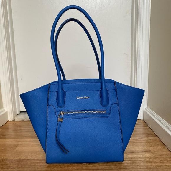 Calvin Klein Handbags - Electric Blue Calvin Klein tote bag
